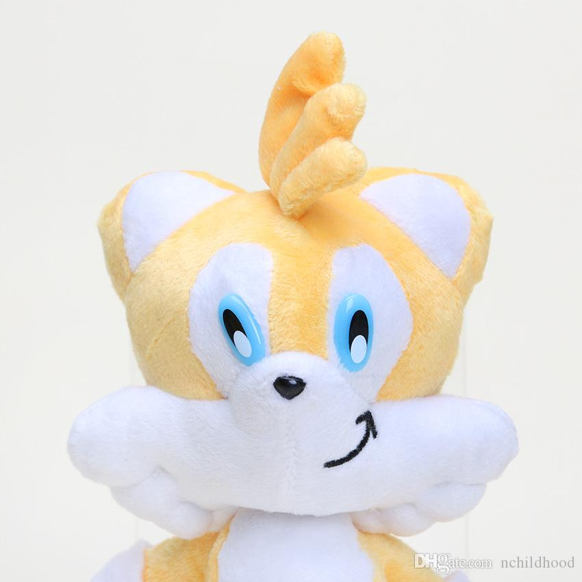 "Sonic The Hedgehog Plush toy Hedgehog stuffed Plush Dolls 8 "" Toys Christmas Gift retail"