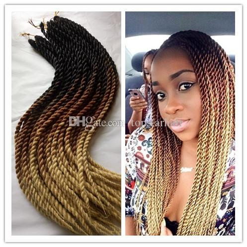 5packs blackbrownbeige ombre pre twist braiding hair extensions see larger image pmusecretfo Images