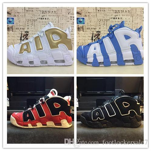 2018 Newest More Uptempo SUPTEMPO Basketball Shoes OLYMPIC RELEASE Bulls Gold Varsity Maroon Black Mens Shoes sneakers Size Eur 40-46 discount shop for Inexpensive sale factory outlet Cheapest cheap online GPD3kxF