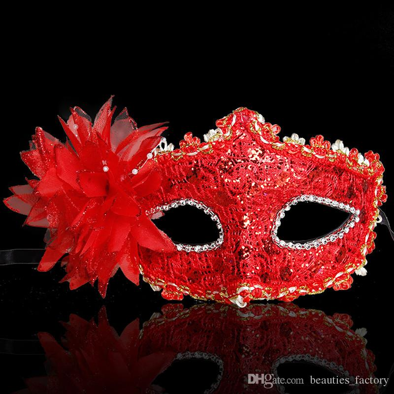 Children Lace Eye Mask Venetian Masquerade Halloween Ball Prom Costume Fancy Dress Dance Party