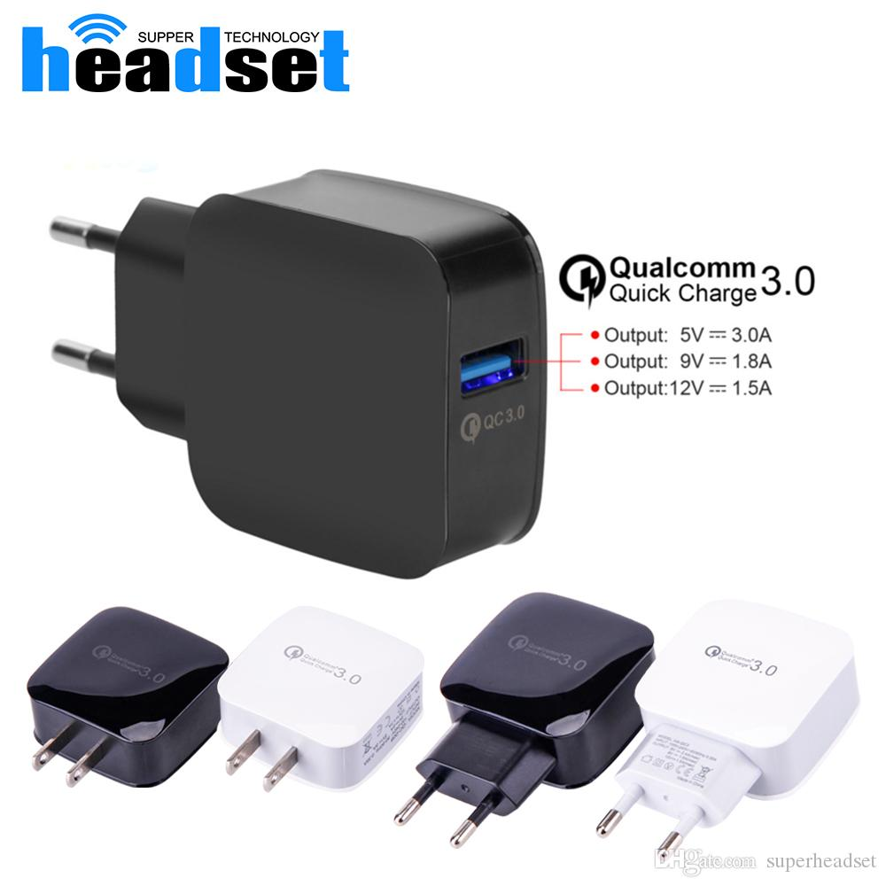 for iphone x samsung qc3 0 quick fast wall charger adapter eu us rh dhgate com