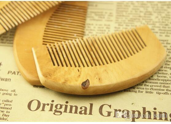Натуральная деревянная гребень для волос Beard Package Pocket Wood Combs Gair Massage Har Care Styling Tool