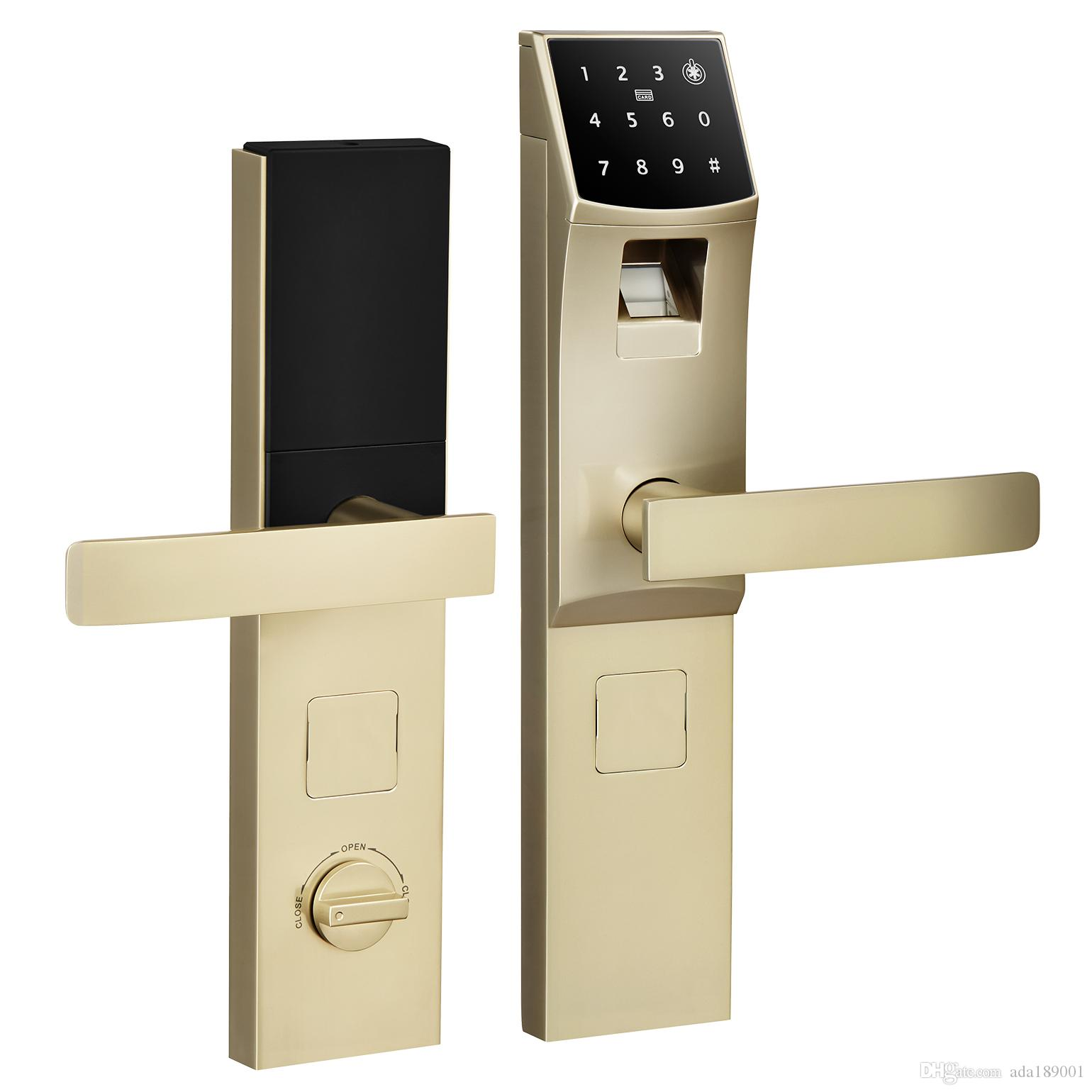 Amusing Electronic Door Handle Lock Ideas Exterior Ideas