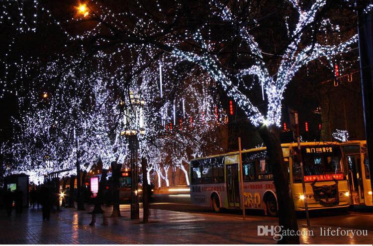 100m led light bulbs Christmas decorations outdoor led christmas lights led projector home garden party ornaments Flash led lights UL-list