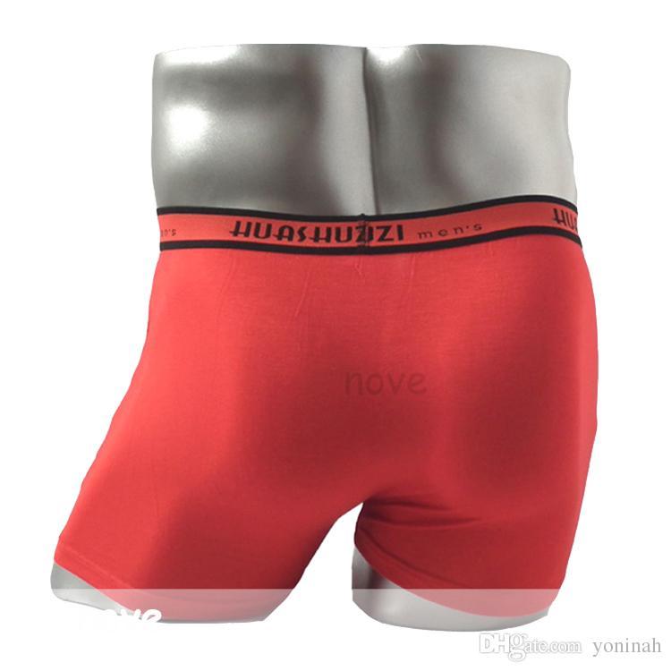 f0fd5c256 Compre Envio Atacado Free Alta Qualidade 4XL 5XL Mens Underwear Confortável  Modal Hombre Boxer Shorts Boxers Dos Homens Da China De Yoninah