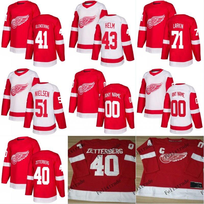 f59e71113 ... 2017 2018 New Ad Detroit Red Wings 41 Luke Glendening 43 Darren Helm 71  Dylan Larkin ...
