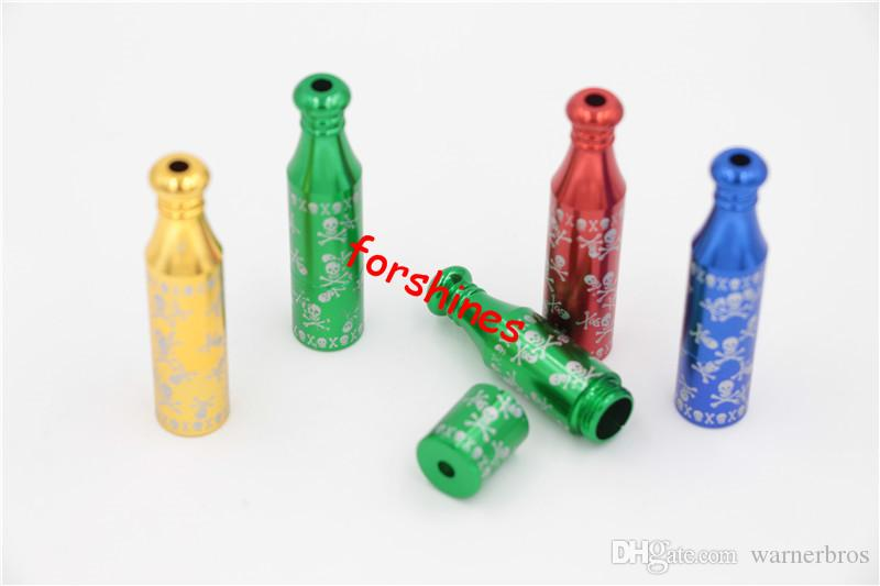 epacket USA snuff China cheap price 6CM smoking pipe Jamaican reggae tobacco pipes Skull cigarette herb filter pipe
