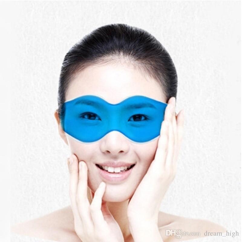 Eye Care Ice Compress Gel Eye Shield إزالة الهالات السوداء تخفيف التعب العين كيس الثلج النوم قناع العين الغمامة