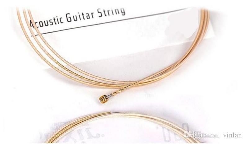 / pcs 012-053 Hot vendas 11052 Nanoweb guitarra acústica cordas guitarra partes instrumentos musicais por atacado
