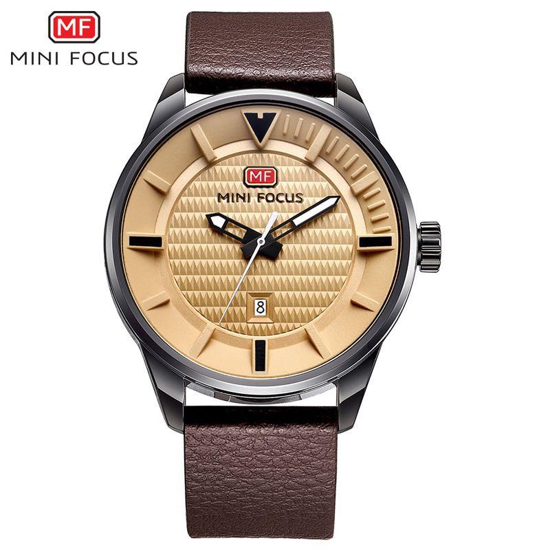 6e8c88c3e8b Compre Mini Focus Men s Watch Top Marca Luxo Quartz Date Clock Masculino  Relógios De Desporto Homens Relógio De Pulso Militar Relogio Masculino De  Gaoshida