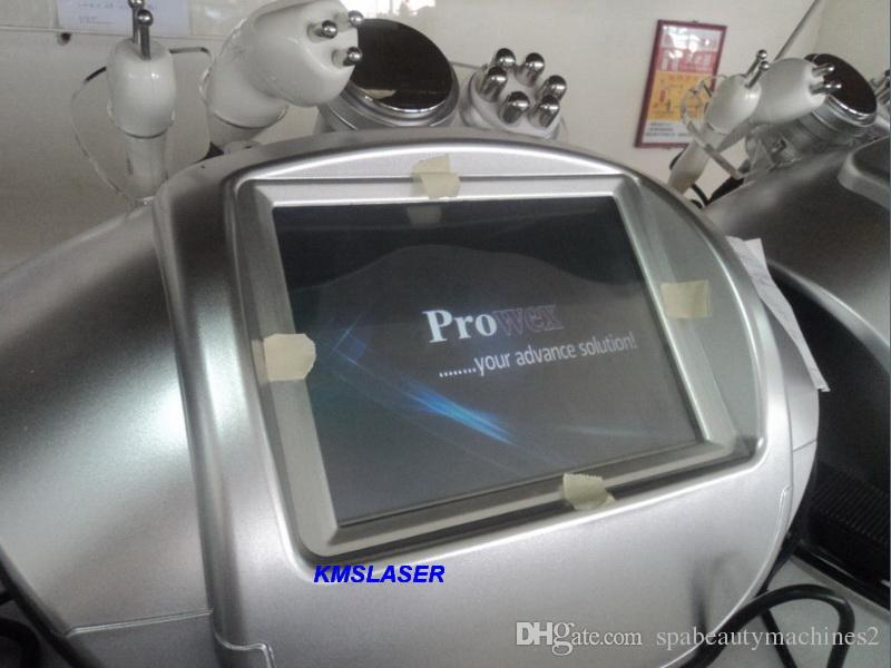 4 in 1 dokunmatik ekran 40 KHZ kavitasyon ultrason 5 MHZ RF vücut zayıflama kilo kaybı spa salonu kullanımı makinesi