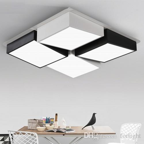 Best quality hot selling led ceiling lights square rectangle shape best quality hot selling led ceiling lights square rectangle shape ceiling lamps led modern minimalist ceiling lamp bedroom study living room lightings at aloadofball Images