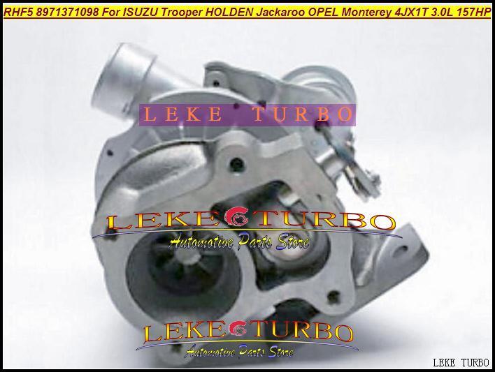 RHF5 8971371098 Turbo Turbocharger For ISUZU Trooper 1999-04 HOLDEN Jackaroo OPEL Monterey 4JX1TC 4JX1T 3.0L 157HP