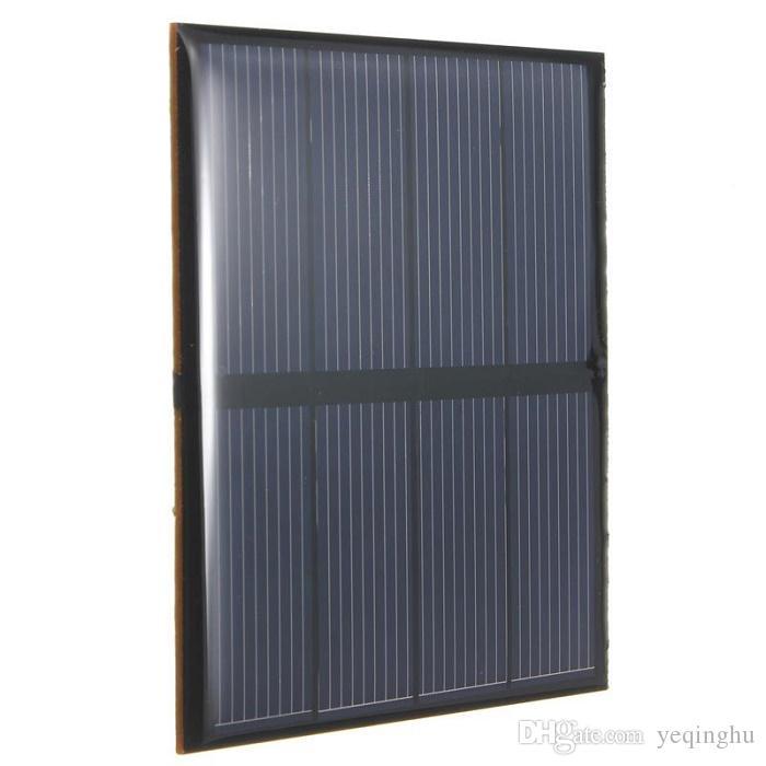 모조리! 고품질 2V 0.6W 소형 태양 전지 다결정 에폭시 태양 전지판 DIY 태양 단위 교육 장비 82 * 70mm /