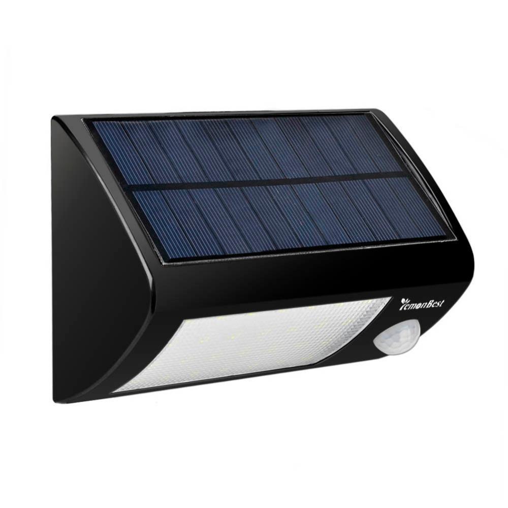 Acheter Détecteur De Mouvement Extérieur De Pir énergie Solaire Led