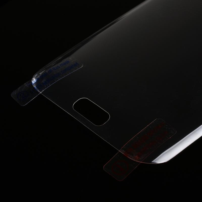 3D flexion courbe avant + arrière protecteur d'écran pour Galaxy Note9 S9 S8 S7 / edge / S6 Plus 0.1MM PET Partie pleine couverture Surface flexion 2in1 Film + Box
