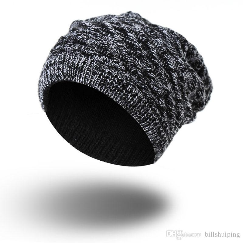 Hot New Winter Snow Caps Knitted Beanie Hat Poms For Women and Men Hip Hop Skull fashion caps