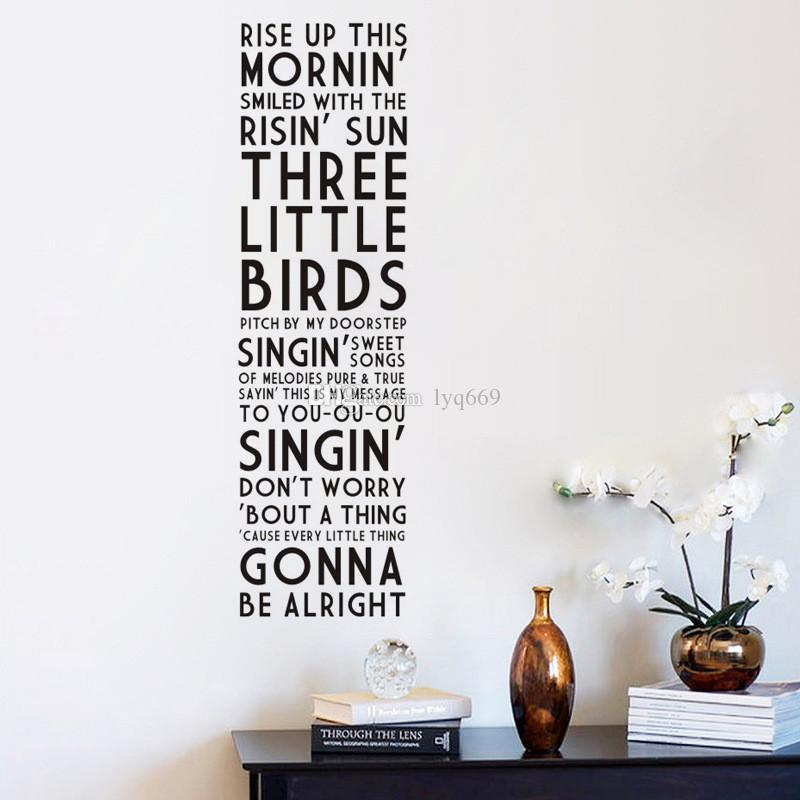 Rise Up Wall Stickers DIY Quotes Letters decals home decor Living Rooms Bedroom Decor For Kids Rooms Poster Mural