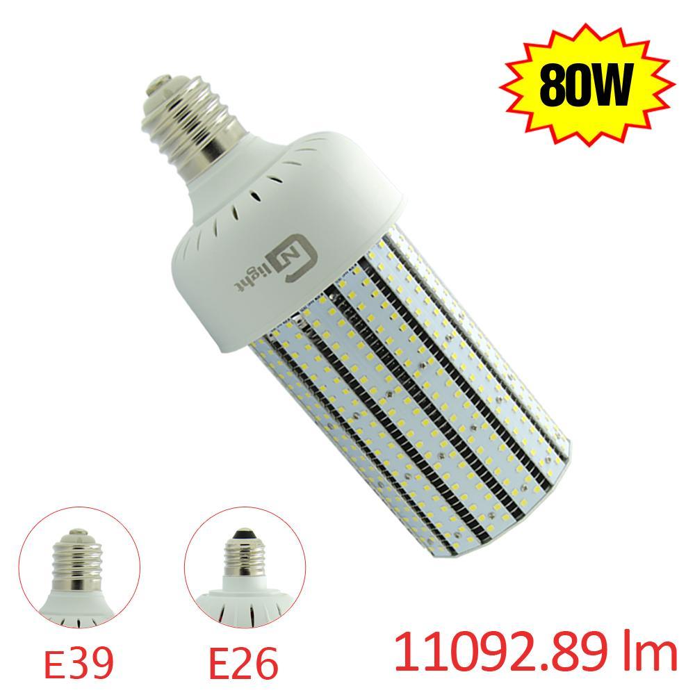 Ul Led Lighting Corn Bulb Lamp 80w Lights 300w Halogen