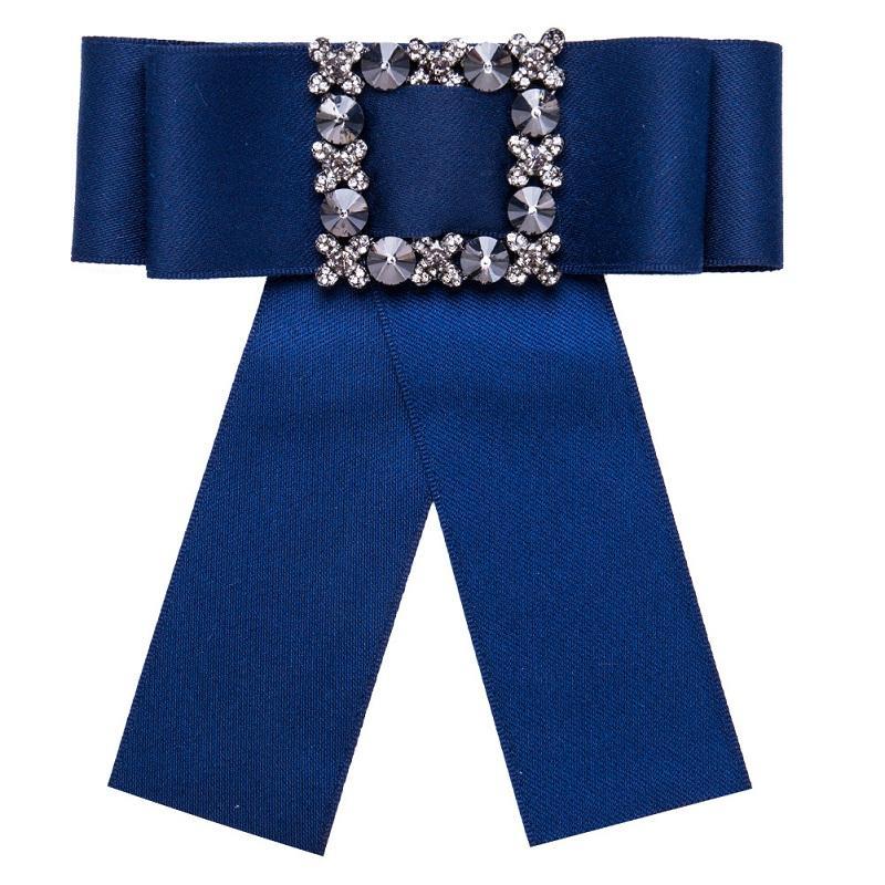 Soie ruban ruban broche promotion toile mosaïque de cristal bijoux arc manuel broche pour femmes vêtements accessoires en gros livraison gratuite