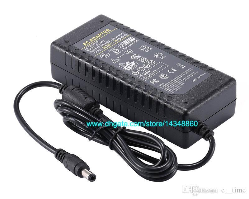 100 pz AC 100-240 V A DC 72 W Alimentatore 24 V 3A Adattatore Caricabatterie con Chip IC Spedizione gratuita