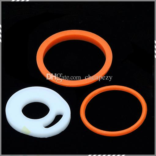 Silicon O Ring for TFV8 Atomizer Full Kit Black SS Top Refilling Sub ohm Tank TFV8 O Rings High quality DHL Free