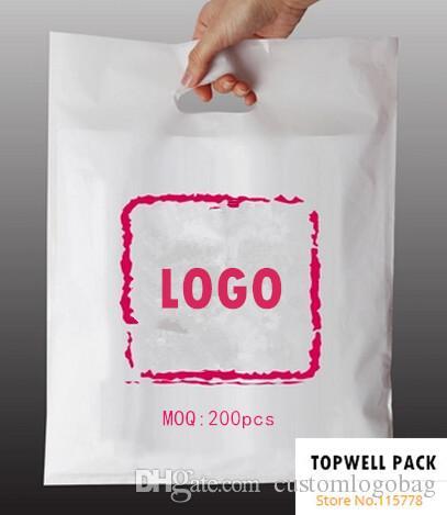 Customized Shopping Bag/7sizes Bagfor Choose Print Logo Plastic ...