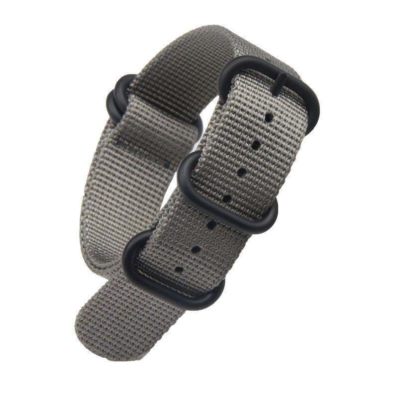 Красный темно-серый прекрасное качество нейлон НАТО ремешок смотреть Band для Omega часы с 5-кольцо 18 мм 20 мм 22 мм 24 мм Бесплатная доставка 10 шт./лот