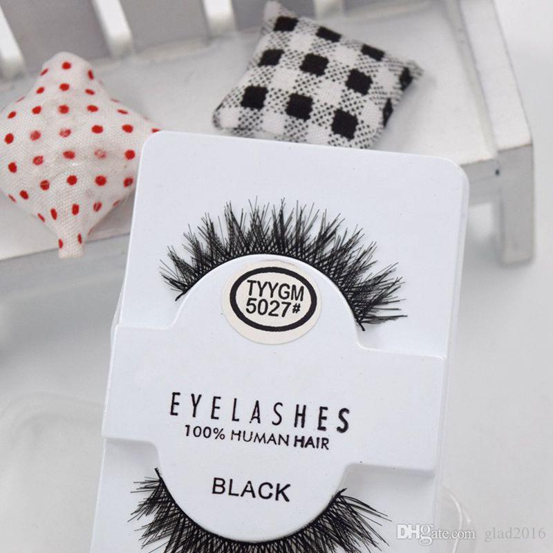 2018. 1 пары ложных ресниц Natural Long Eye Lashes Extension макияж Профессиональных Поддельные Ресницы Крылатых Поддельный Lashes Wispies TYYGM