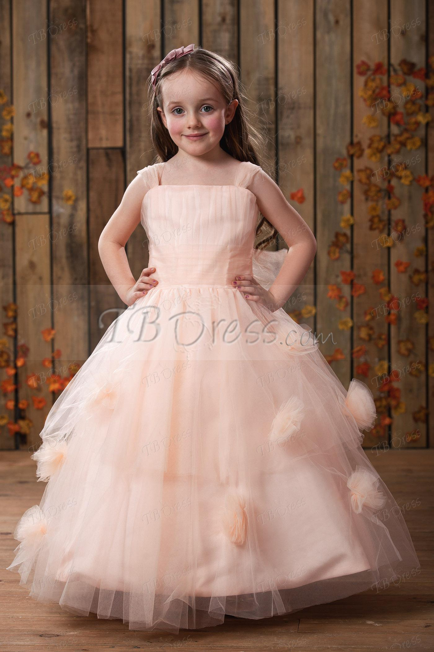 New style arrival 2016 apricot flower girl dress fashion flower see larger image ombrellifo Images