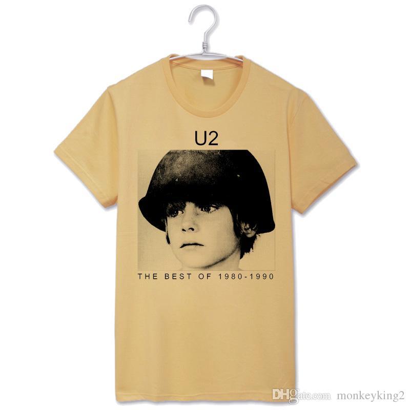 Acheter U2 Guerre T Shirt Vintage Fashion