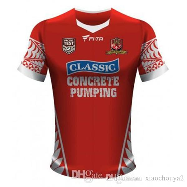 00dfc338af0 TONGA RUGBY LEAGUE 2017 HOME JERSEY 2017 HOME JERSEY Rugby Jerseys ...