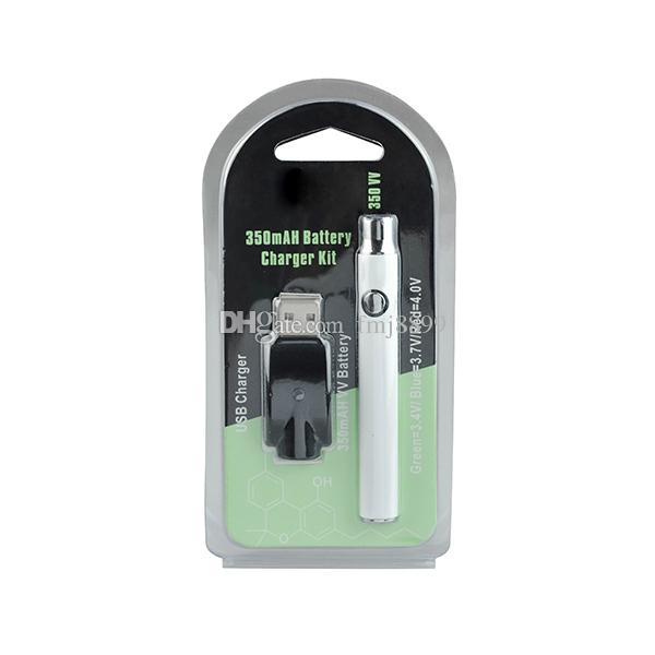 Подогрейте батарею 350mah подогрева батареи 3.4 V 3.7 V 4.0 V CE3 Vape o ручка с беспроволочным заряжателем для масляного бака воска