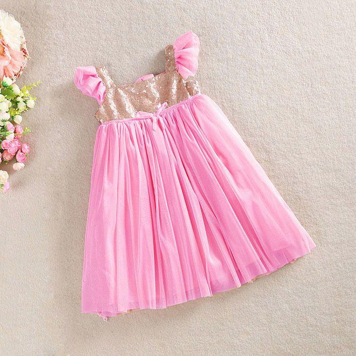 c9e3a24896c Latest Design Sequins Girls Tutu Dresses Princess Girl Sparkle Dress ...