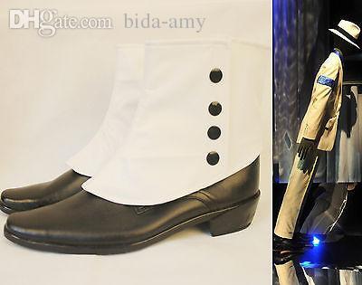 2019 Wholesale Rare MJ Michael Jackson SMOOTH CRIMINAL 45 Degrees Magic  Amazing Unimaginable Leaning Shoes Boots Show Moonwalk From Bida Amy d766879de