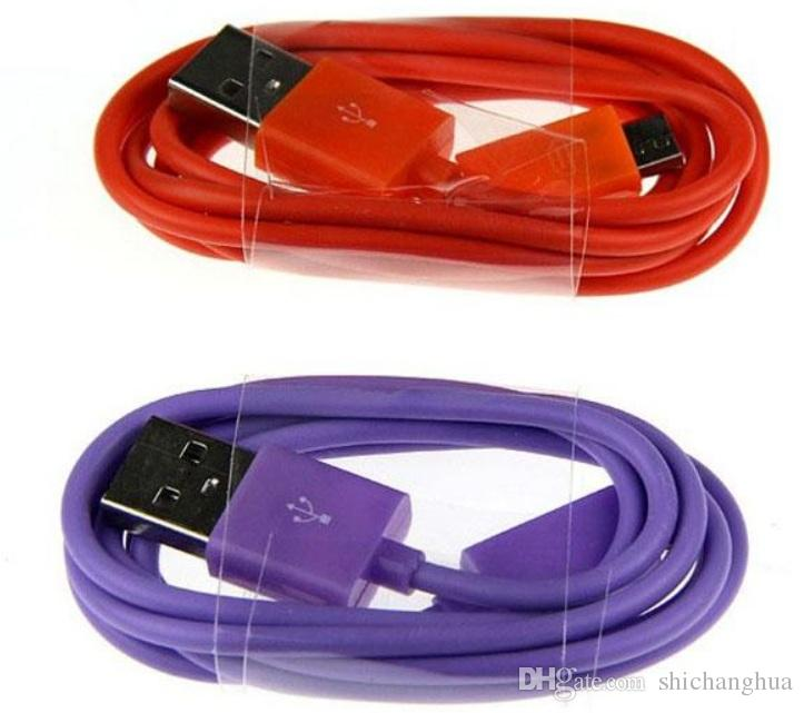 1M/2M/3M Micro V8 mini USB Sync Charger Cable For Samsung Nokia LG Sony HTC car Android smart mobile cell phone cables