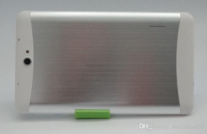 2017 планшетный ПК 7-дюймовый 3G фаблет Android 4.4 MTK6572 двухъядерный 512MB 8GB Dual SIM GPS телефонный звонок WIFI планшетный ПК дешевые телефоны фарфора B-7PB