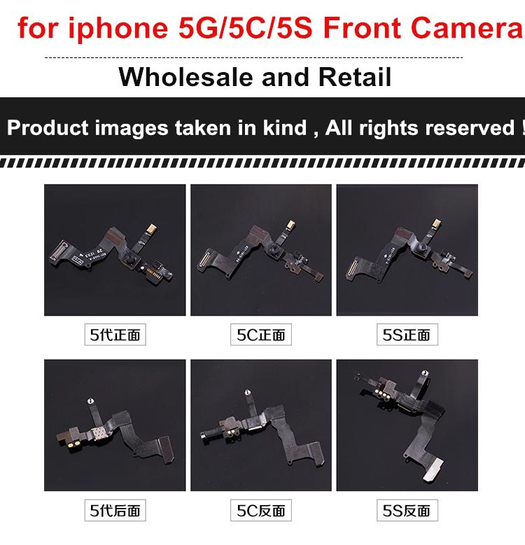 for iphone 4 5 5g 5C 5S 5SE 6 6 Plus Replacement Proximity Sensor Light Motion Front Face Camera Microphone Flex Cable