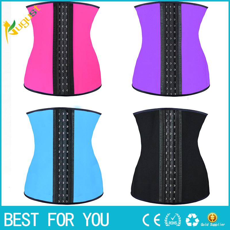 fc01cdab62 2019 9 Steel Bone Latex Rubber Corset Body Shaper Waist Trainer Training  Corsets Corset Latex Corset Latex Waist Cincher Slimming Shapewear New From  Dksmoke ...