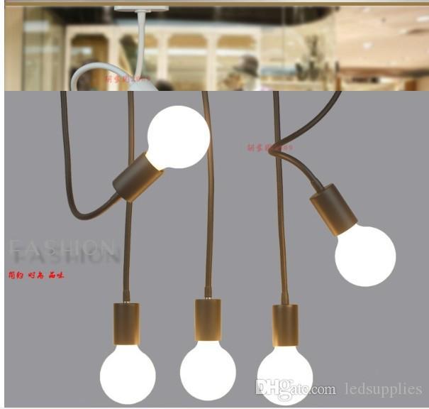 LED Schlauchschiene schießen E26 E27 Lampe lange Stange Biegelicht Bekleidungsgeschäfte nach dem Hintergrund Wandschiene Licht zu zeichnen