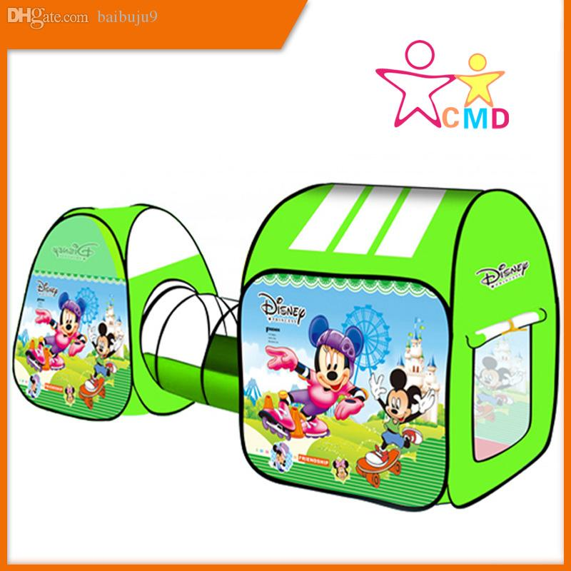 Wholesale Variety Cartoon Tents Fun Games Ocean Ball Pool Childrenu0027S Tent Indoor Climbing Game Mickey Mouse Tunnels And Tents Indoor Princess Tent From ...  sc 1 st  DHgate.com & Wholesale Variety Cartoon Tents Fun Games Ocean Ball Pool ...