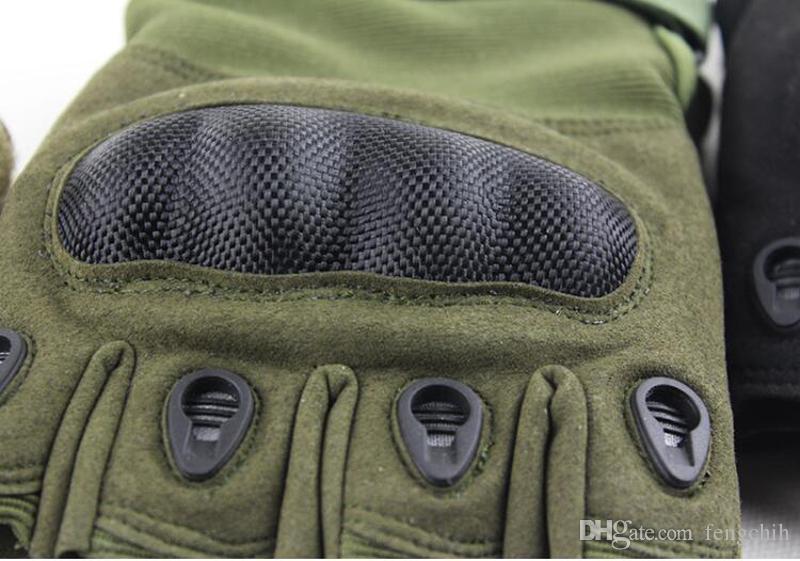 Boa qualidade Tactical Semi Dedo Luvas de Bicicleta Ao Ar Livre Equitação Exercício de Fitness Anti Skid Luvas Usadas Metade do Dedo Neoprene Luvas