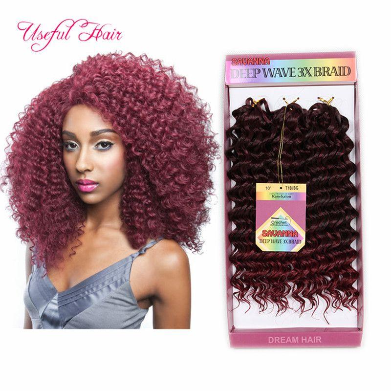 Freetress Beach Curl Cheap Hair Extensions Brazilian Crochet Hair