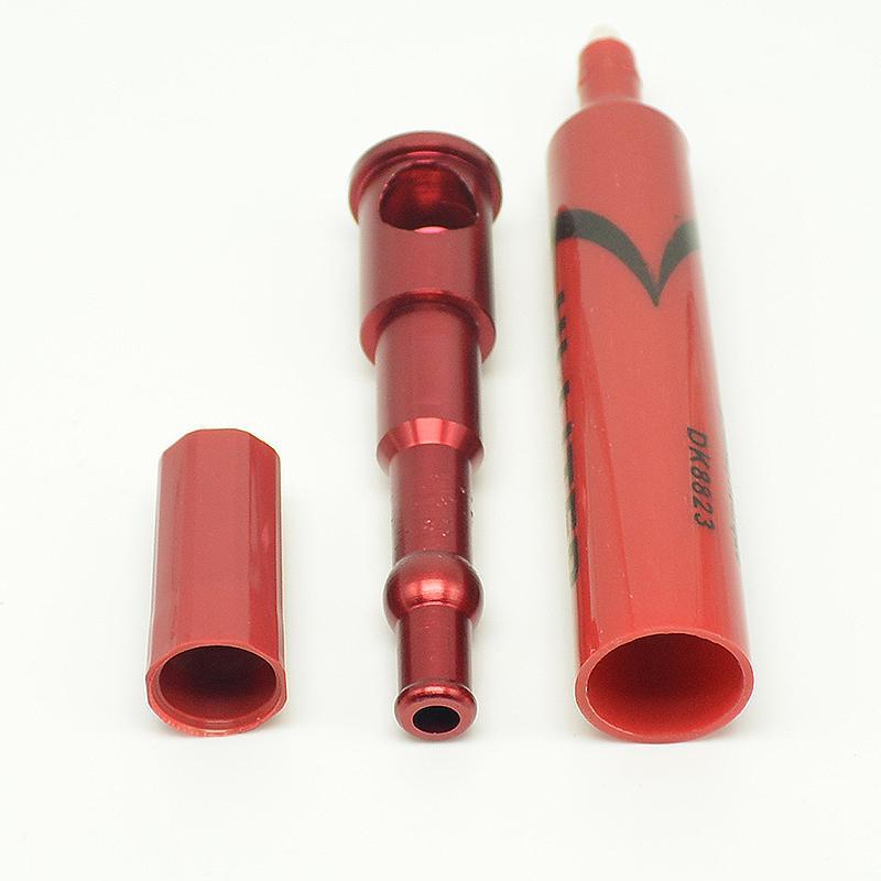 Hej liter rörmarkör penna stash rökning metallrör smyg A Toke Klicka n Vape också erbjuder rökning vatten rörkvarn