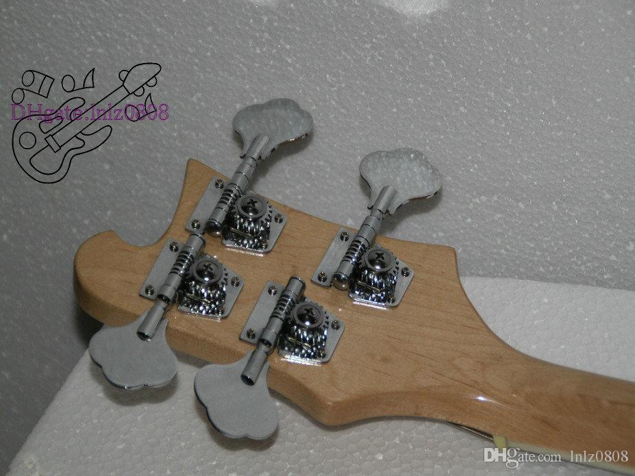 왼손잡이 맞춤형 자연 4 현 4003베이스 기타 왼손잡이베이스 기타 기타 중국 무료 배송