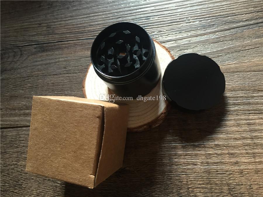 Günstige Beste Mini 40mm CNC Metall SharpStone Grinder Herbal Tabakmühle für das Rauchen Kräutermühle mit O-Ring