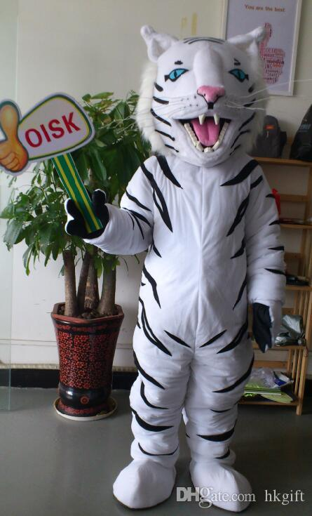 Professional Custom White Tiger Cat Mascot Head Costume Suit Cartoon Adult Halloween Christmas Fancy Dress Adult Size Buy A Mascot Elf Mascot Costume From ... & Professional Custom White Tiger Cat Mascot Head Costume Suit Cartoon ...