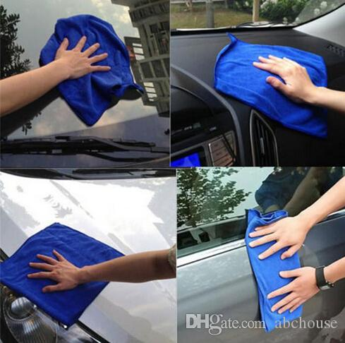 Wholesale Microfibre Cleaning Cloths Home Household Clean Towel Auto Car Window Wash Tools Free Shipping
