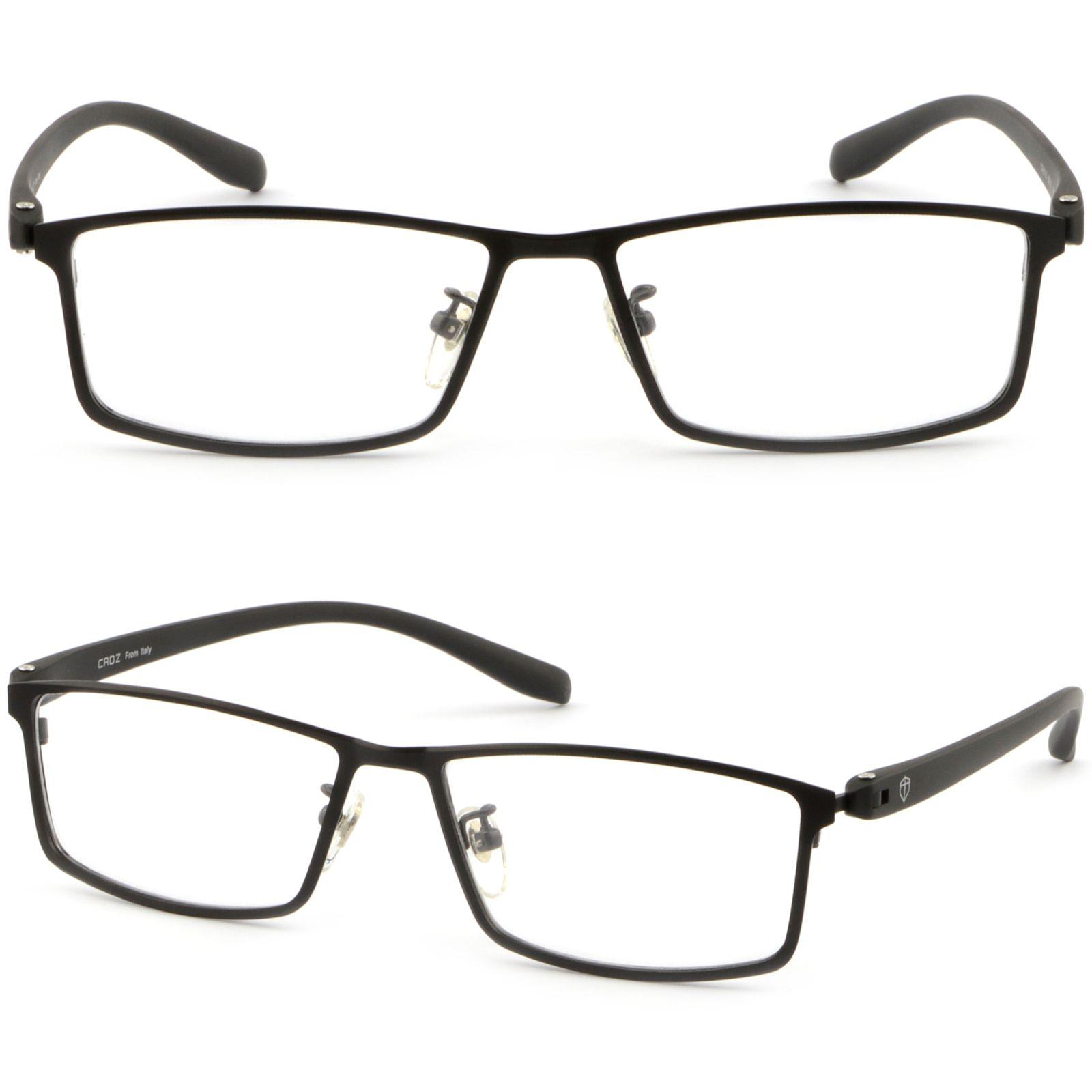 Mens Womens Light Titanium Frame Prescription Glasses Sunglasses ...