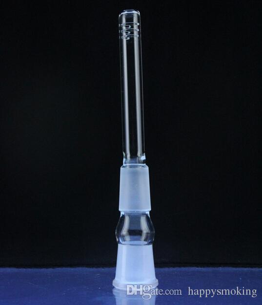 그레이트 글래스 다운 스템 파이프 14.5mm 18.8mm 여성 14mm 18mm 두꺼운 유리 다운 스템 디퓨저 글래스 스템 유리 줄기 유리 다운 스템